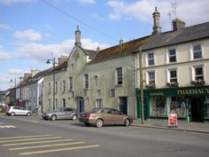 Fethard, County Tipperary, closest 'big' town to where I lived first in Ireland. Yes, this is 'BIG' compared to the villages around. I lived in the sticks but loved it. :-)