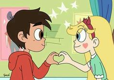 Starco is real Cute Disney Wallpaper, Cute Cartoon Wallpapers, Cute Wallpaper Backgrounds, Galaxy Wallpaper, Star Y Marco, Princess Star, Cartoon Profile Pictures, Cartoon Icons, Starco