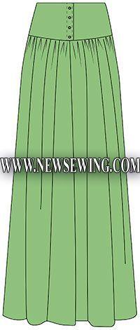 Пошаговые выкройки одежды для начинающих 54