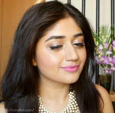 Spring Makeup - Pastel Pink and Pearl