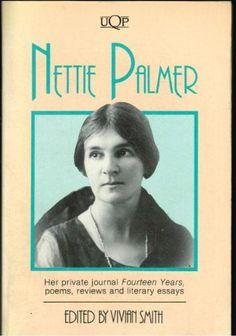 Nettie Palmer (Uqp Paperbacks) by Nettie Palmer http://www.amazon.com/dp/0702221309/ref=cm_sw_r_pi_dp_k7Jyvb1F4AZNH