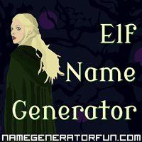 The Elf Name Generator: Create elf names using a random generator