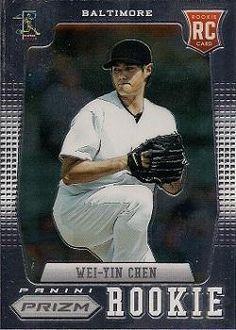 2012 Panini Prizm #153 Wei-Yin Chen Front
