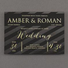 Foil Again Wedding Invitation     40% OFF     http://mediaplus.carlsoncraft.com/Wedding/Wedding-Invitations/3285-RZ38777-Foil-Again--Invitation.pro