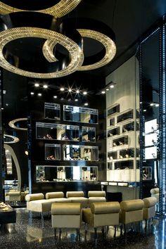 Gina Shoe Store, Dubai designed by Caulder Moore