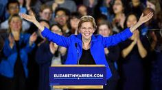 Elizabeth Warren, D-Mass., announced on Monday that she had formally launched an exploratory committee for a 2020 presidential bid. The former Harvard p. Presidential Election, Elizabeth Warren 2020, Monmouth University, Cory Booker, Bernie Sanders, New Series, News Today