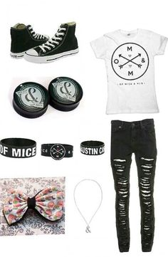 Of Mice & Men outfit ♡