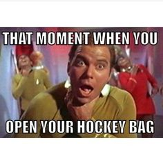 """Getting rid of that """"hockey smell"""" is virtually impossible no matter how hard you try. 