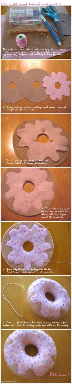 10 DIY Ways to Make Felt Toys for Endless Fun! 14 - www.facebook.com/...