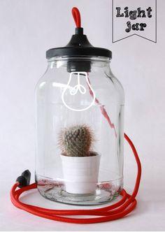 Light jar : Accessoires & decoratie van The little factory