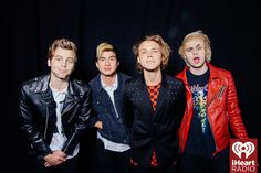 5 Seconds of Summer at the iHeartRadio Music Awards which broadcasted live on NBC from the Shrine Auditorium in Los Angeles on March 29. (Photo: Joseph Llanes for iHeartRadio)