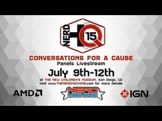Nerd HQ 2015 - Day 3 - Presented by IGN Live | Colin, Jennifer, & Josh's panel starts at the 7 Hour 37 minute mark - YouTube