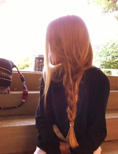 #beauty #hair #long #braid #ginger
