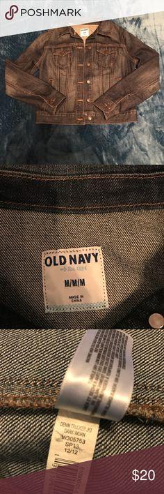 Old navy jean jacket. NWOT Nice jean jacket never been worn. NWOT! Dark blue denim Old Navy Jackets & Coats Jean Jackets