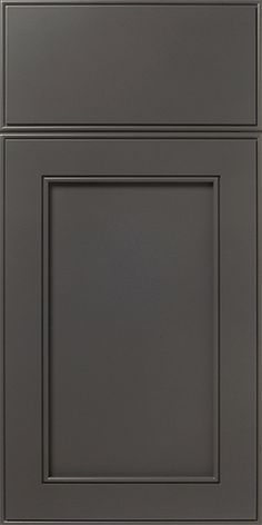The S838 Constance Signature Series design features a Mitered Door paired with a Slab Style Drawer Front. The design is shown in our Moonlight SolidTone® (paint) Finish.