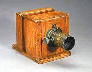 Brady Studio Sliding Box Camera, in 1860