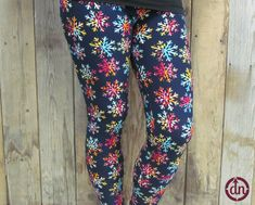 Rainbow Snowflakes Children's Leggings Cute Outfits, Pairs, Leggings, Womens Fashion, Snowflakes, How To Wear, Corner, Rainbow, Clothes
