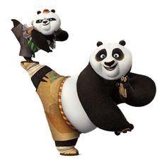 По и маленькая панда Бао