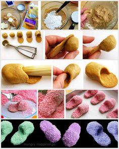 http://www.hungryhappenings.com/2011/05/how-to-make-pink-fuzzy-slipper-cookies.html  (How cute of an idea for a slumber party cake)