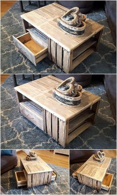 Make on lockable casters as coffee table for patio?