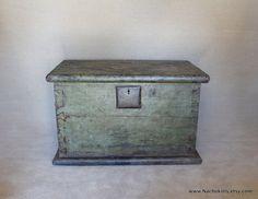 1780s Chinese Trunk Thick Wood & Iron Historic by Nachokitty, $1368.00