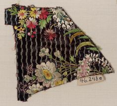 One of five fragments from a man's coat | Museum of Fine Arts, Boston