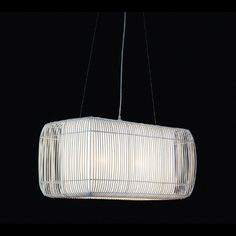 Geisha Pillow Linear Suspension by Hive | LPGE-WH-3115