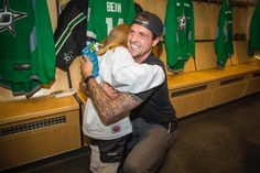 Jamie Benn at first ever girl Little Rookie class Saturday July 30th