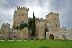 Castillo de Ampudia en #Palencia