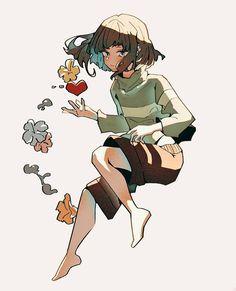 Undertale Cute, Undertale Fanart, Frisk, Drawing Tips, Cute Art, Squad, Character Design, Geek Stuff, Fan Art
