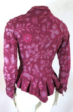 Natalie Chanin Clothing   NATALIE CHANIN Project Alabama Handmade floral jacket at 1stdibs