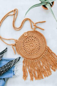 Ravelry: Street Fair Boho Purse pattern by Jess Coppom # crochet handbags boho Street Fair Boho Purse Boho Crochet, Crochet Simple, Free Crochet, Crochet Purse Patterns, Christmas Knitting Patterns, Crochet Handbags, Crochet Purses, Crochet Bags, Ravelry
