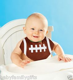 Football Bib At Seasons by Design specialty shop, 2605 Ford Drive, New Holstein, WI 53061.       920-898-9081 Seasonsbydesigngifts@yahoo.com  Follow us on Facebook