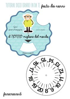 Do-it-yourself hours disk for grandparents& day. - Farecreare- Disco orario fai da te per la festa dei nonni. – Farecreare Do-it-yourself hours disk for grandparents& day. All Kids, Grandparents Day, Gifts For Dad, Diy Tutorial, Kids Playing, Paper Flowers, Fathers Day, Crafts For Kids, Projects To Try