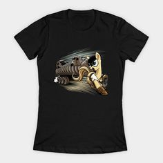 My Little Fury - Rig Edition Womens T-Shirt