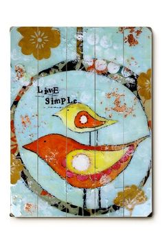 Studio Be by Cindy Wunsch, live simple. Art!