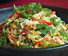 Great Vietnamese chicken noodle salad, ,