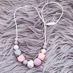 Hey, I found this really awesome Etsy listing at https://www.etsy.com/uk/listing/530400425/silicone-teething-necklace-nursing