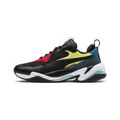 Image 3 of Thunder Spectra Sneakers, Puma Blk-Puma Blk-Puma White, medium Running Silhouette, Dad Shoes, Sneakers Fashion, Sneakers Nike, Dope Fashion, Mens Fashion, Baskets, Black Thunder, Puma Basket