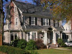 williamsburg dutch colonial homes | Midvale Road, West Roxbury, MA