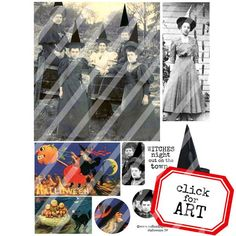 Halloween Collage Sheet 59