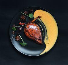 Chicken In Vietnamese, Carrot Puree
