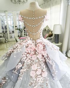 Don't care for the back, but the skirt is to die for!!!!!!!!!!