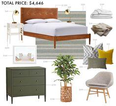 One Bedroom, Three TINY Budgets - Emily Henderson