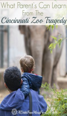 What can the tragedy at the Cincinnati Zoo teach parents? This might not be a popular post, but one that bears reading and reflecting upon.