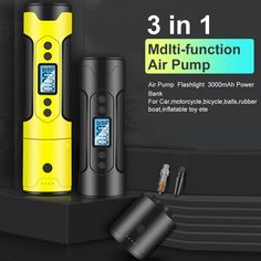 [Buying Guide] Tyre Inflator Cordless Portable Compressor Digital Car Tyre Pump Rechargeable Air Pump for Car Bicycle Tires Balls Pressure Units, Tire Pressure Gauge, Portable Air Compressor, Bicycle Tires, Phone Charger, Car Wash, Flashlight, Digital, Pump