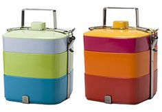 A super sexy and colorful lunch box - the Plastica Bento Box | #DesignLUX Goes Back to School