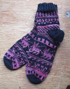 Handknit Wool Socks, Superwash Merino. $48.00, via Etsy.