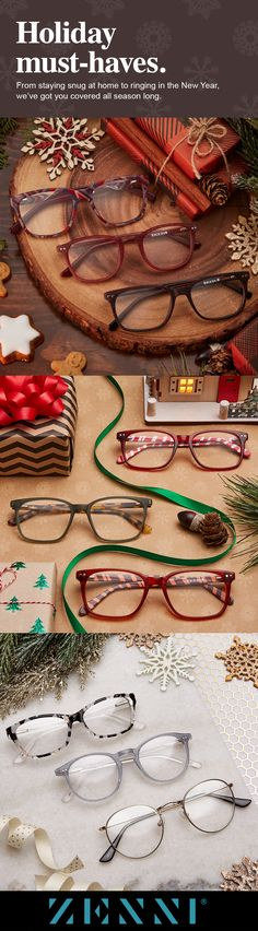 New Zenni eyewear looks to make the holiday season brighter