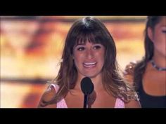 Lea Michele Acceptance Speech - Teen Choice Awards 2013 (HD)